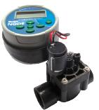 Одностанционный контроллер с клапаном PGV-101-GB (с резьбой BSP) и фиксирующим соленоидом (постоянный ток)