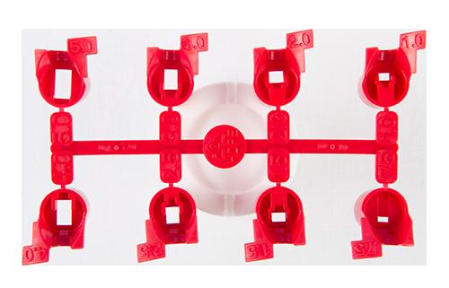Сопла красного цвета для роторов PGJ