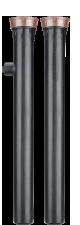 """Статический спринклер с выдвижной штангой 30 см и регулятором давления 2,1 бар. Входное отверстие - 1/2"""""""