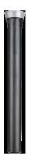 """Статический спринклер с выдвижной штангой 30 см и регулятором давления 2,8 бар. Входное отверстие - 1/2"""""""