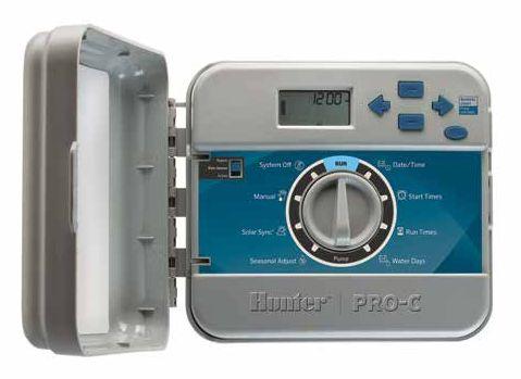 Функциональный пульт управления на 6 зон полива для внутренней установки