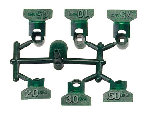 Сопла зеленого цвета для роторов SRM