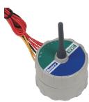 4-станционный беспроводной контроллер (фиксирующий соленоид постоянного тока не прилагается) 869 МГц